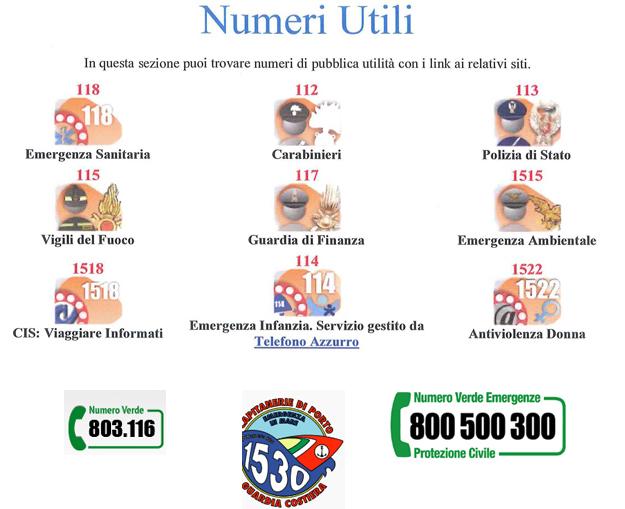 numeri-utili